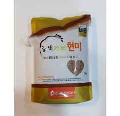 유기농가바현미 2Kg (햇곡)